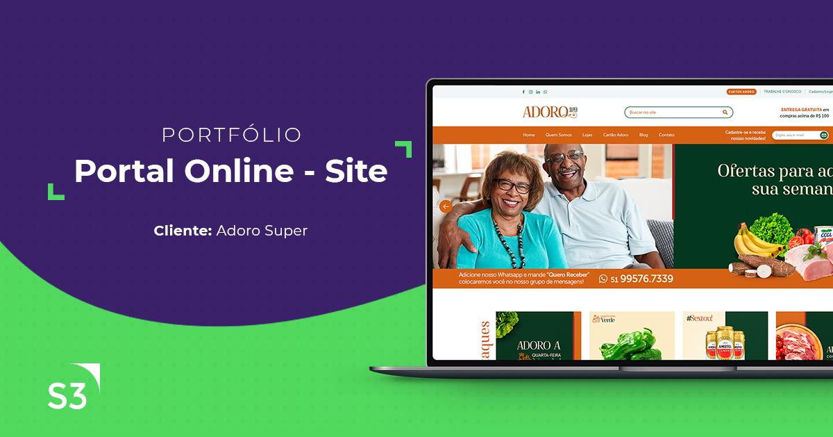 Portal Online Super Adoro