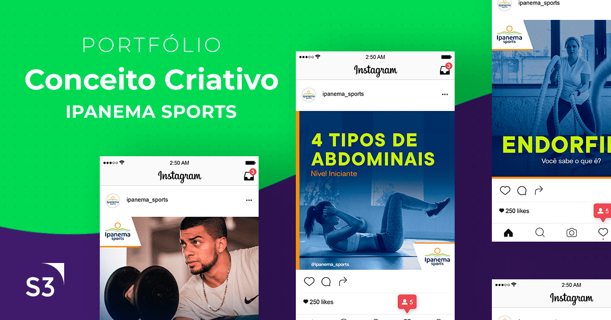 Conceito Criativo, Ipanema Sports