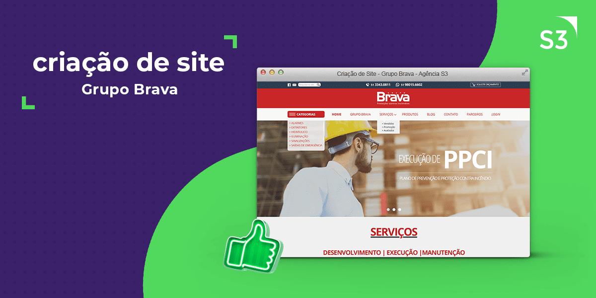 Site - Grupo Brava