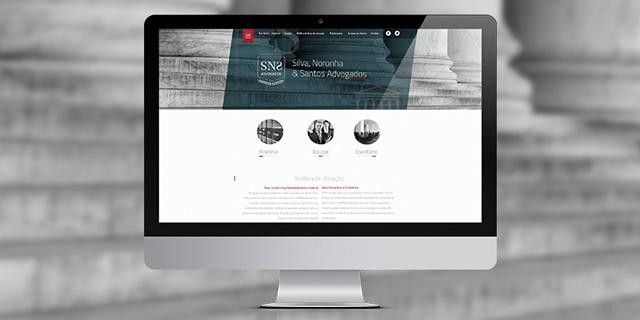 Site SNS Advogados