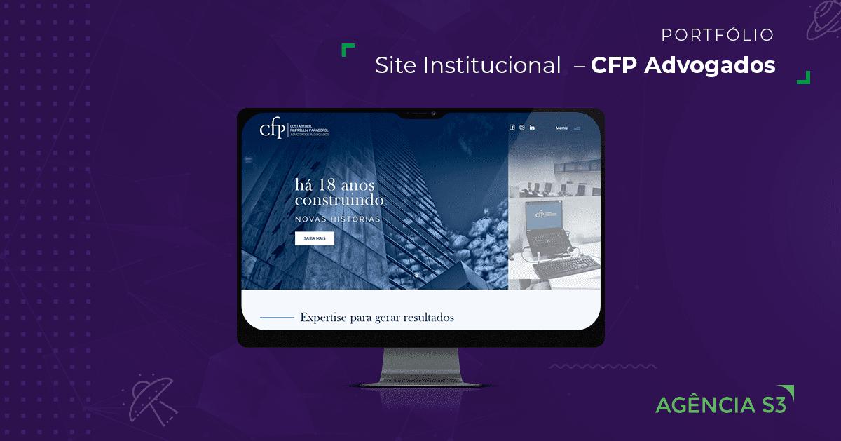 Site Institucional CFP Advogados