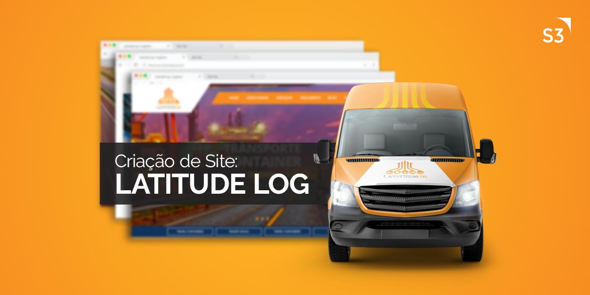 Novo portal da empresa de logística LatitudeLog