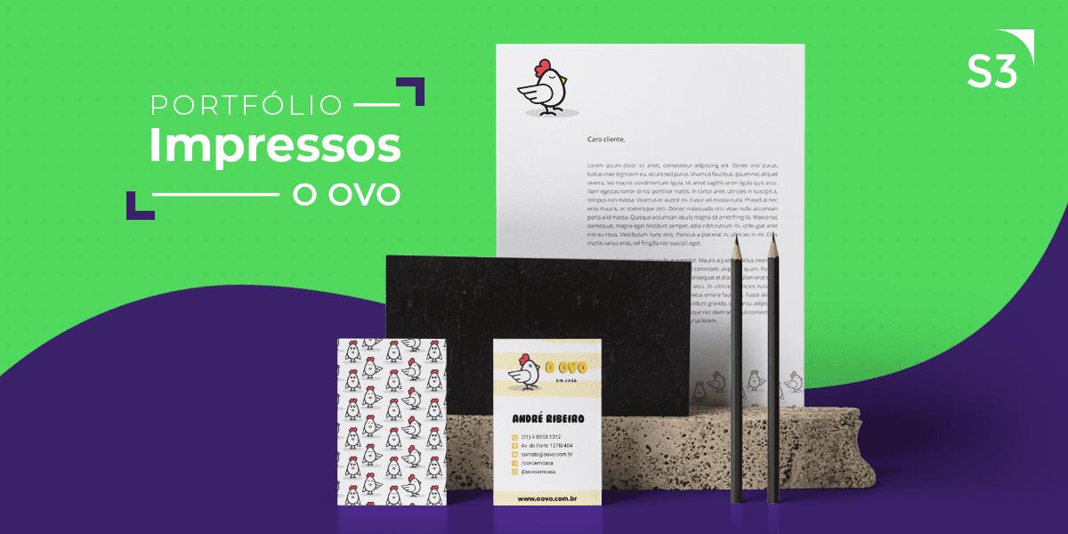 Material Impresso - O Ovo