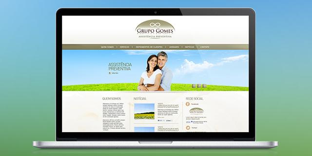 Site Grupo Gomes