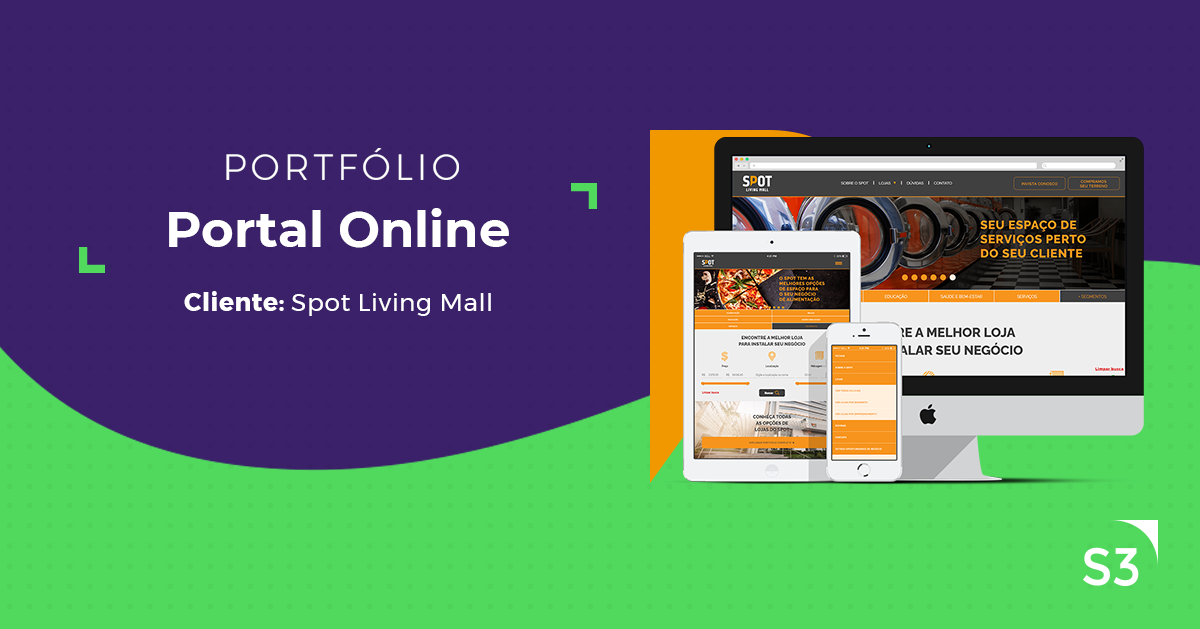 Portal Online | Spot Living Mall