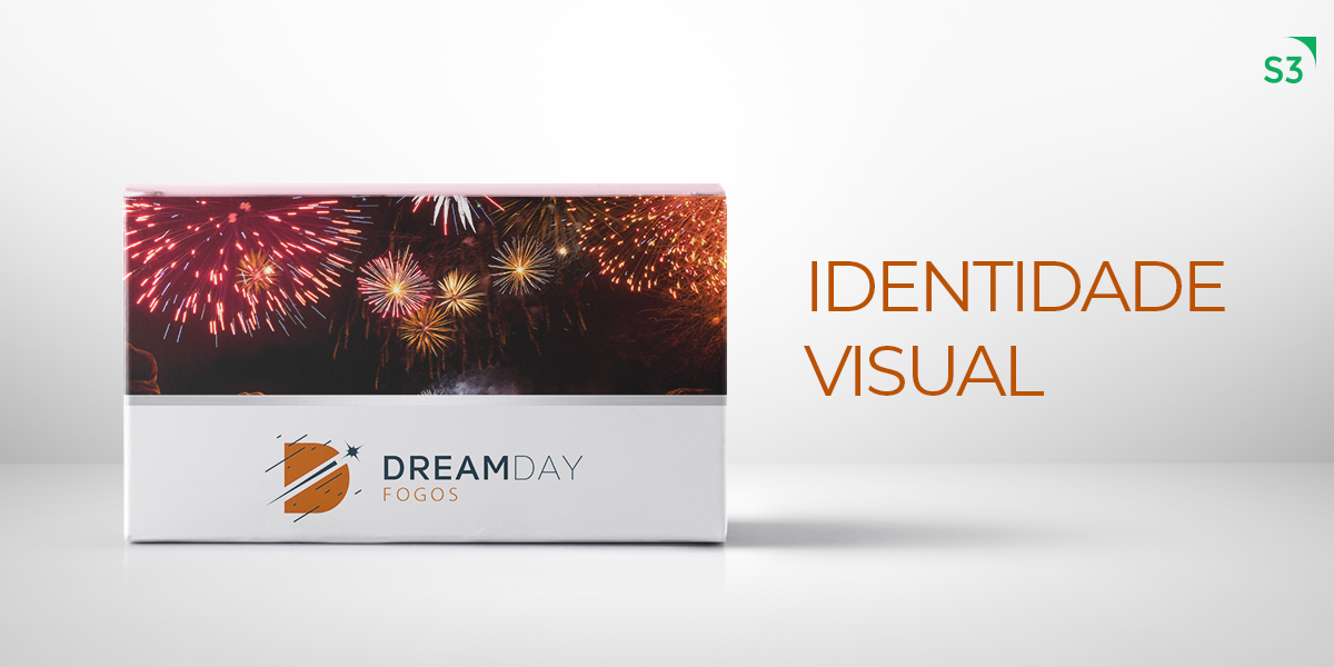Identidade Visual DreamDay Fogos