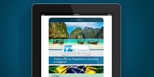 Newsletter RZ Turismo