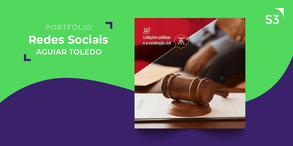 Redes Sociais - Aguiar Toledo