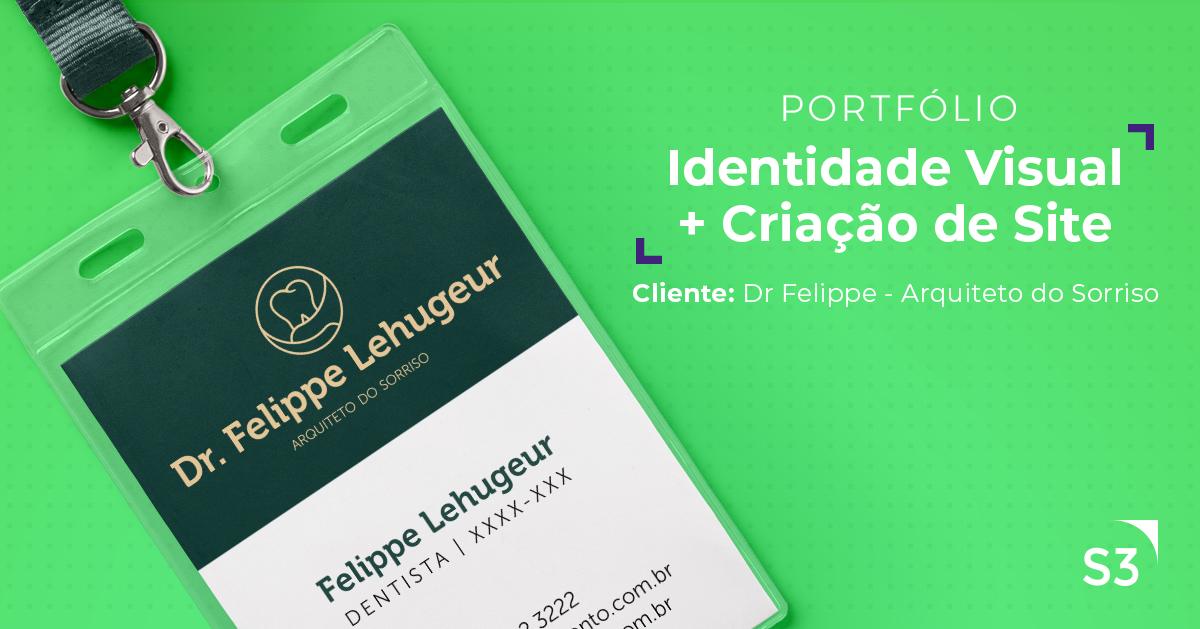 Dr. Felippe Lehugeur - Portal Online + Identidade Visual