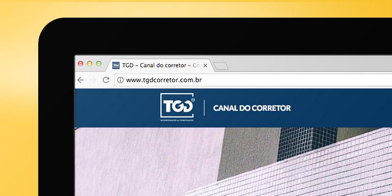 Site TGD Corretor