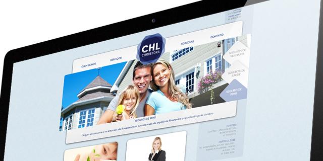 Site CHL Corretora