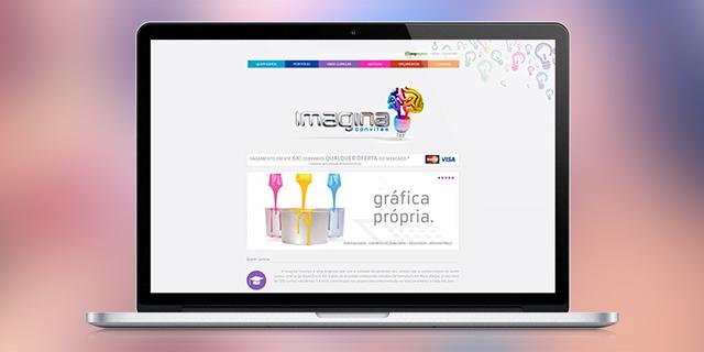 Site Imagina Convites