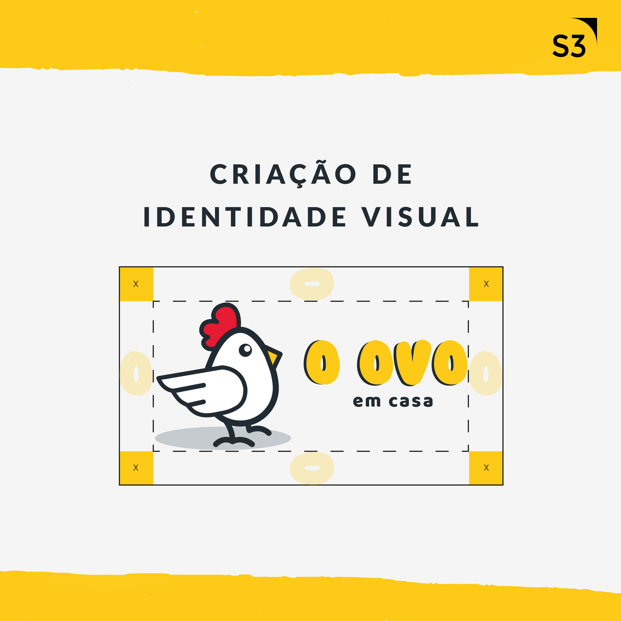 O Ovo - Identidade Visual do Delivery de ovos