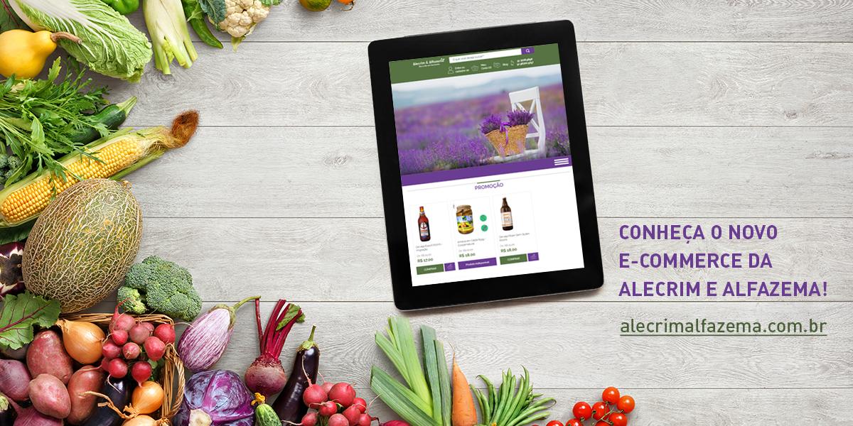 E-commerce Alecrim & Alfazema
