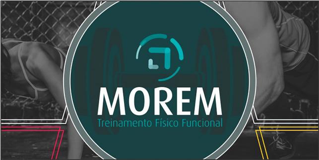 Logo e materiais gráficos Morem