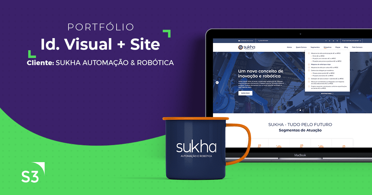 Sukha - Identidade Visual + Site