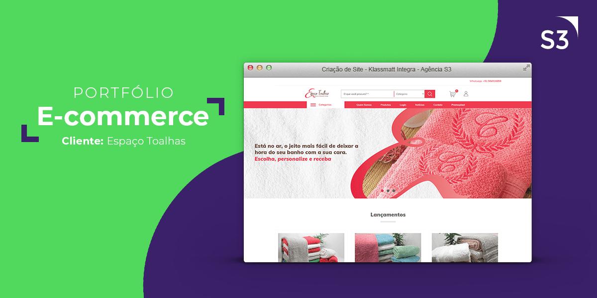 E-commerce - Espaço Toalhas