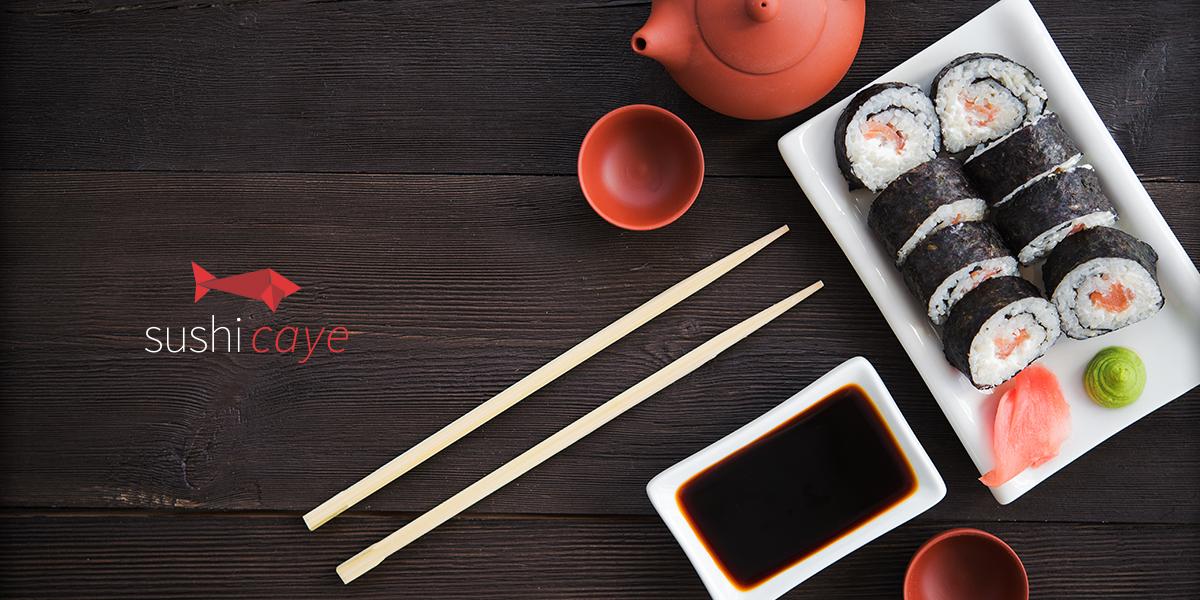Embalagens Sushi Caye