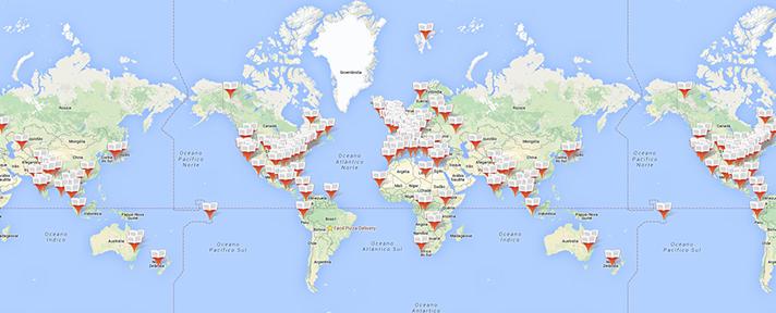 Mapa dos Livros une Google Maps e leitores para indicar onde cada história se passa