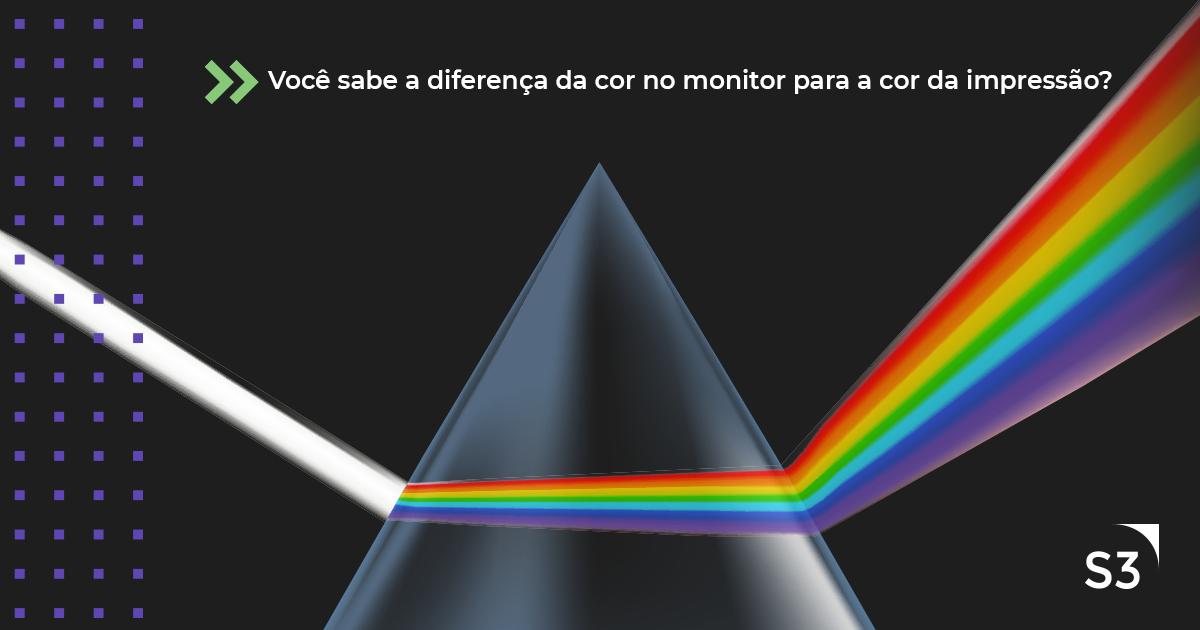 Você sabe a diferença da cor no monitor para a cor da impressão? Famoso CMYK x RGB