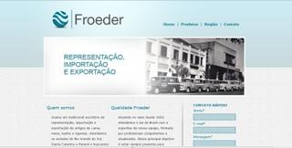 Novo site da Froeder no ar