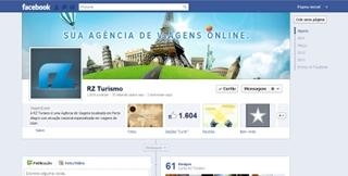 Agência s3 cria nova página da RZTurismo no Facebook