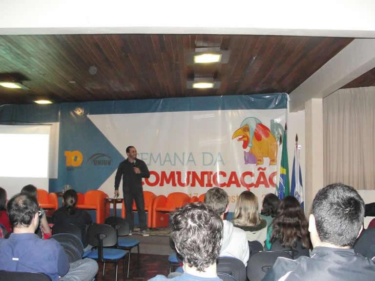 Agência s3 participa da Semana de Comunicação da UNIUV