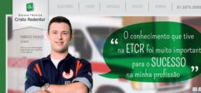 Novo site da ETCR está no ar