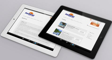 Agência s3 cria novo site da Portovan