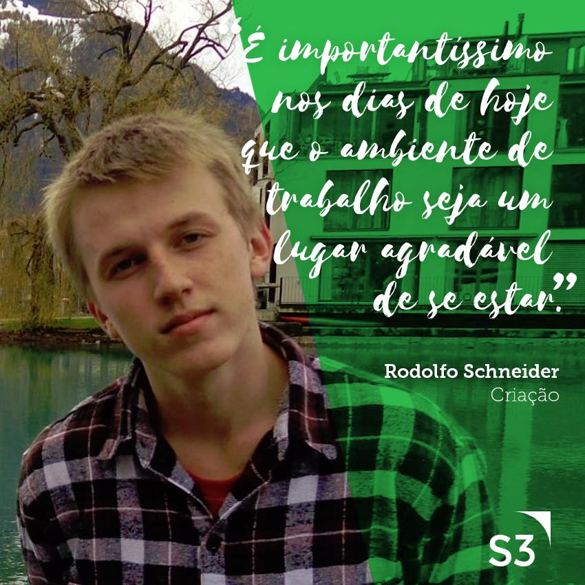 Colaboradores da Agência - Rodolfo Schneider