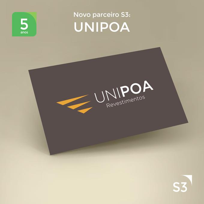 UNIPOA Revestimentos - A Nova Parceira da s3